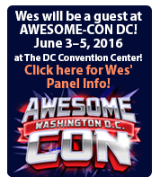 Wes at AWESOME-CON